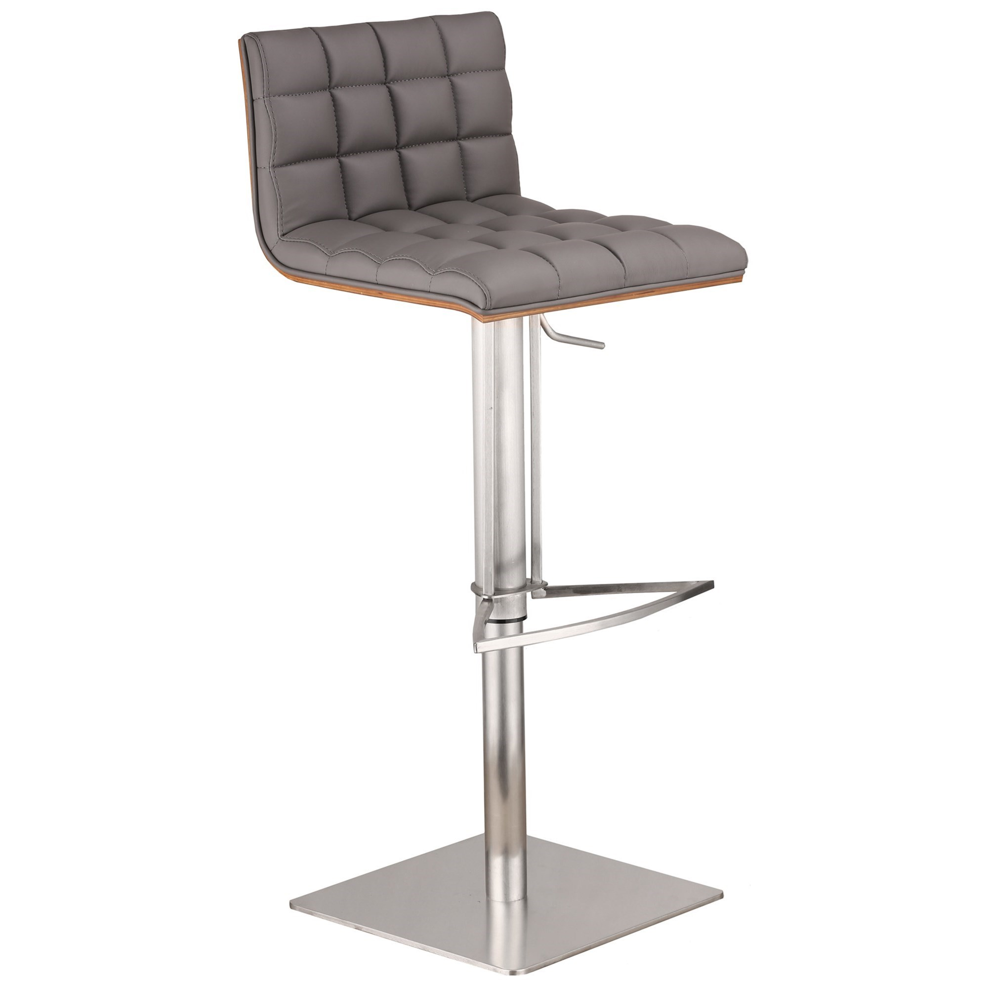 Oslo Adjustable Bar Stool by Armen Living at Michael Alan Furniture & Design