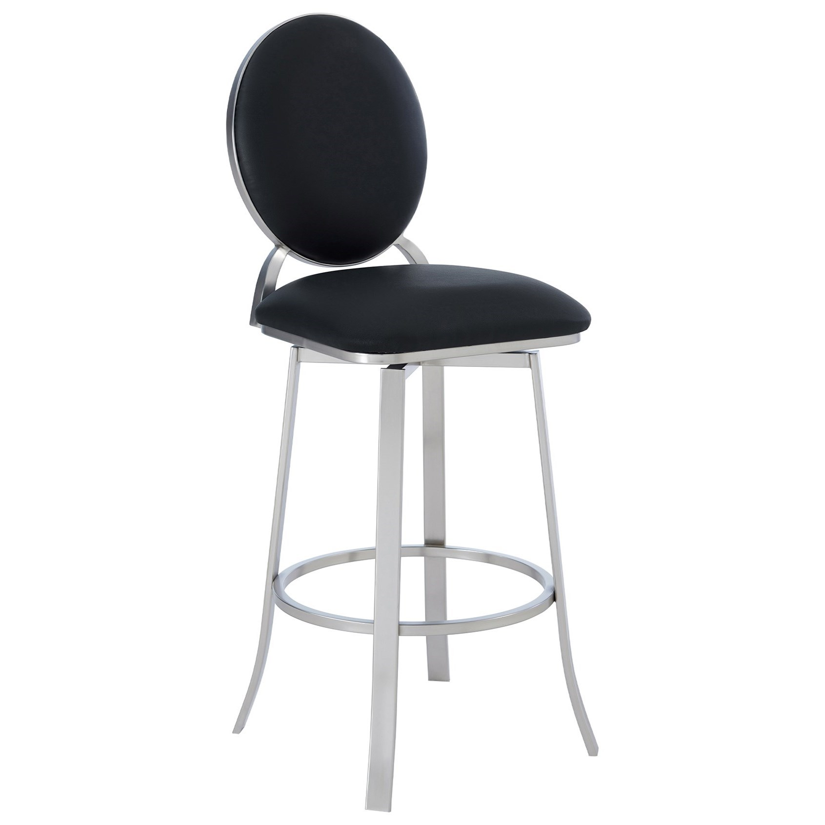 """Pia Contemporary 26"""" Counter Height Barstool at Sadler's Home Furnishings"""