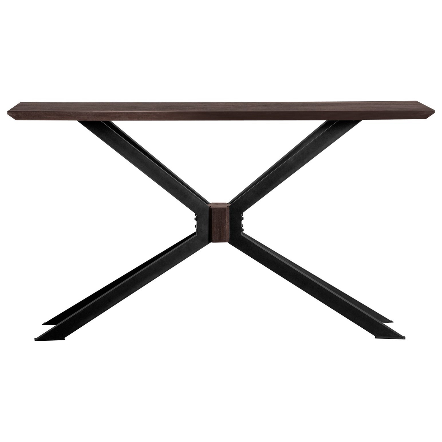 Pirate Acacia Modern Console Table at Sadler's Home Furnishings