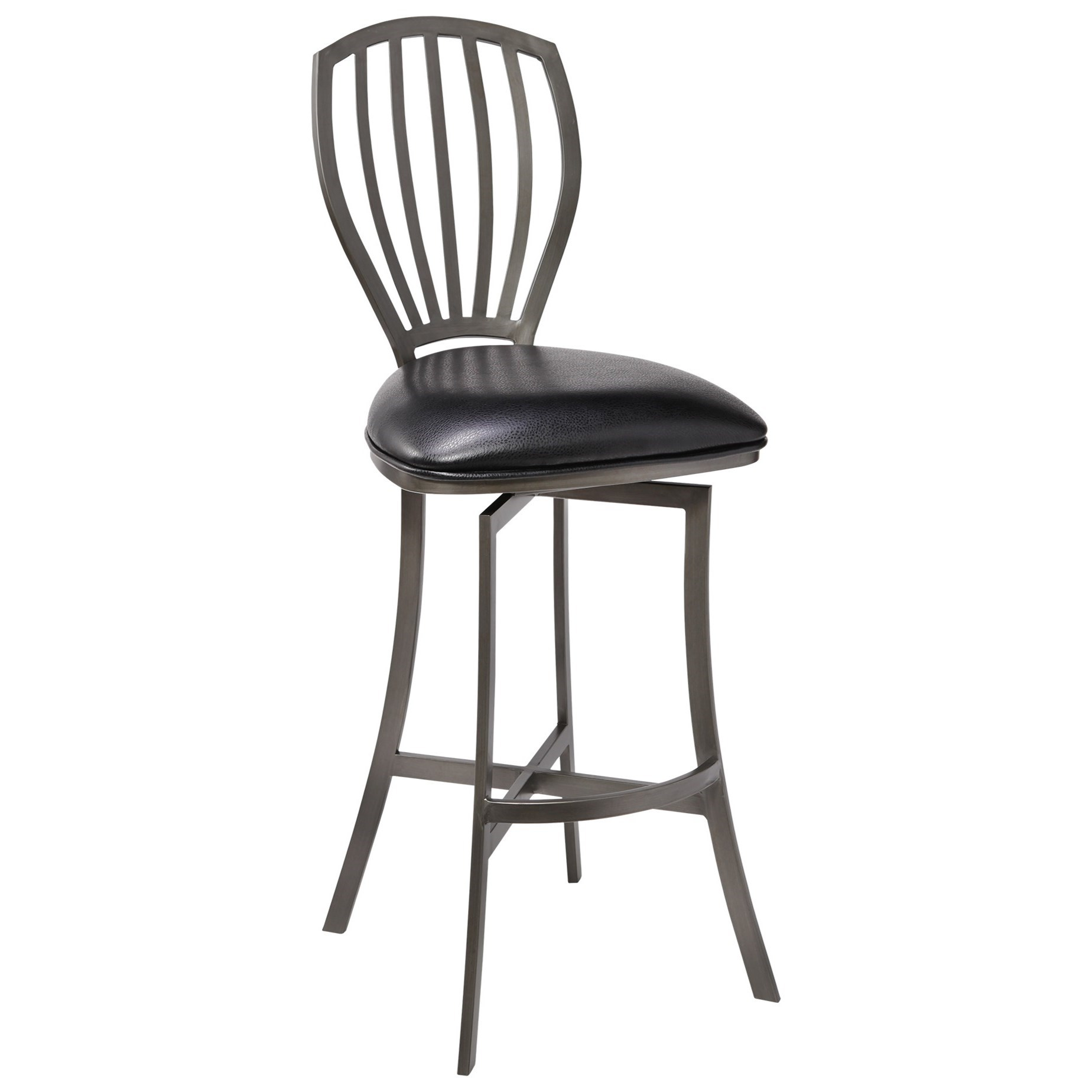 """Sandy Contemporary 26"""" Counter Height Barstool at Sadler's Home Furnishings"""