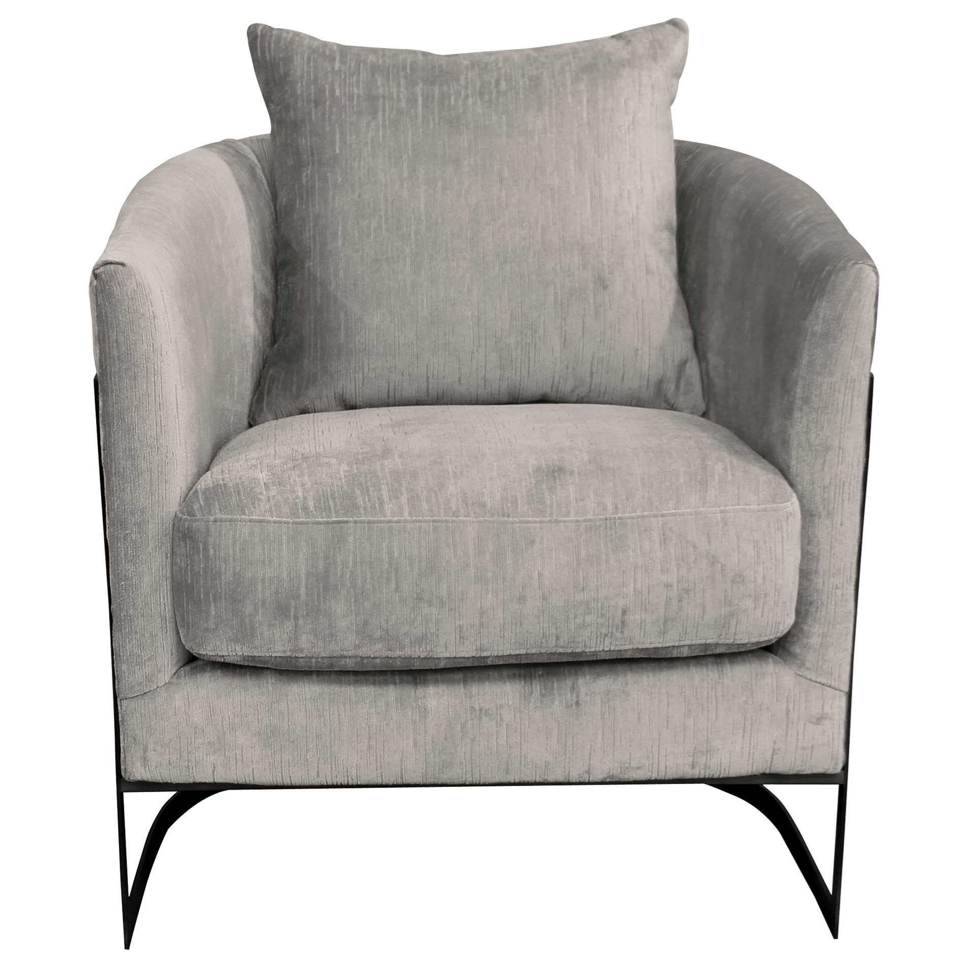 Swan Accent Chair by Armen Living at Michael Alan Furniture & Design