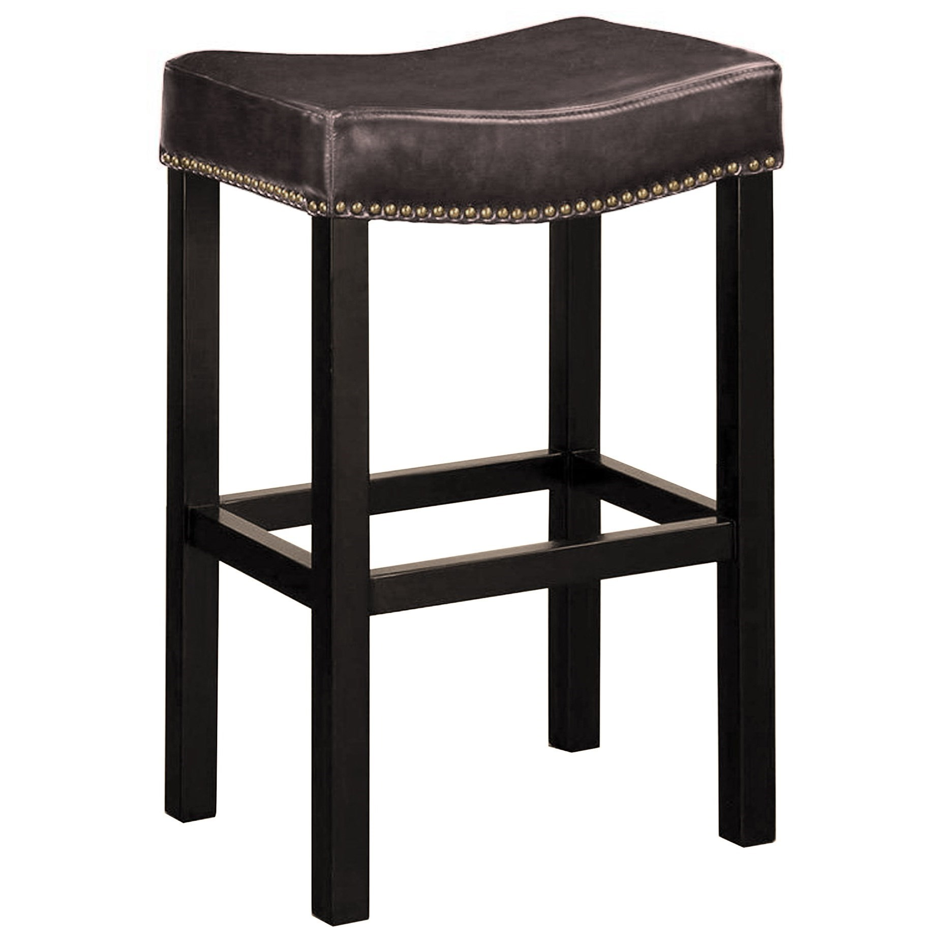 "Tudor 30"" Backless Stationary Barstool at Sadler's Home Furnishings"