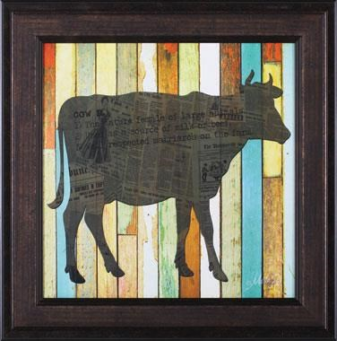 Nature and Wildlife Cow Wall Art by Art Effects at Dunk & Bright Furniture