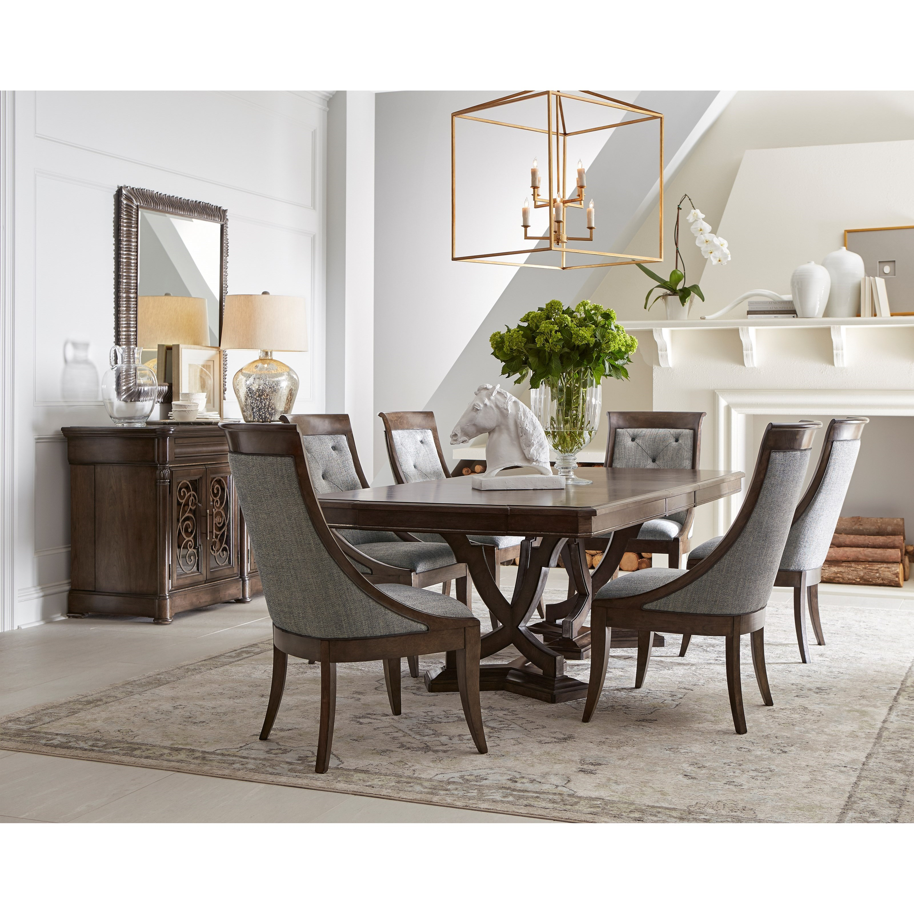Landmark Formal Dining Group by A.R.T. Furniture Inc at Michael Alan Furniture & Design