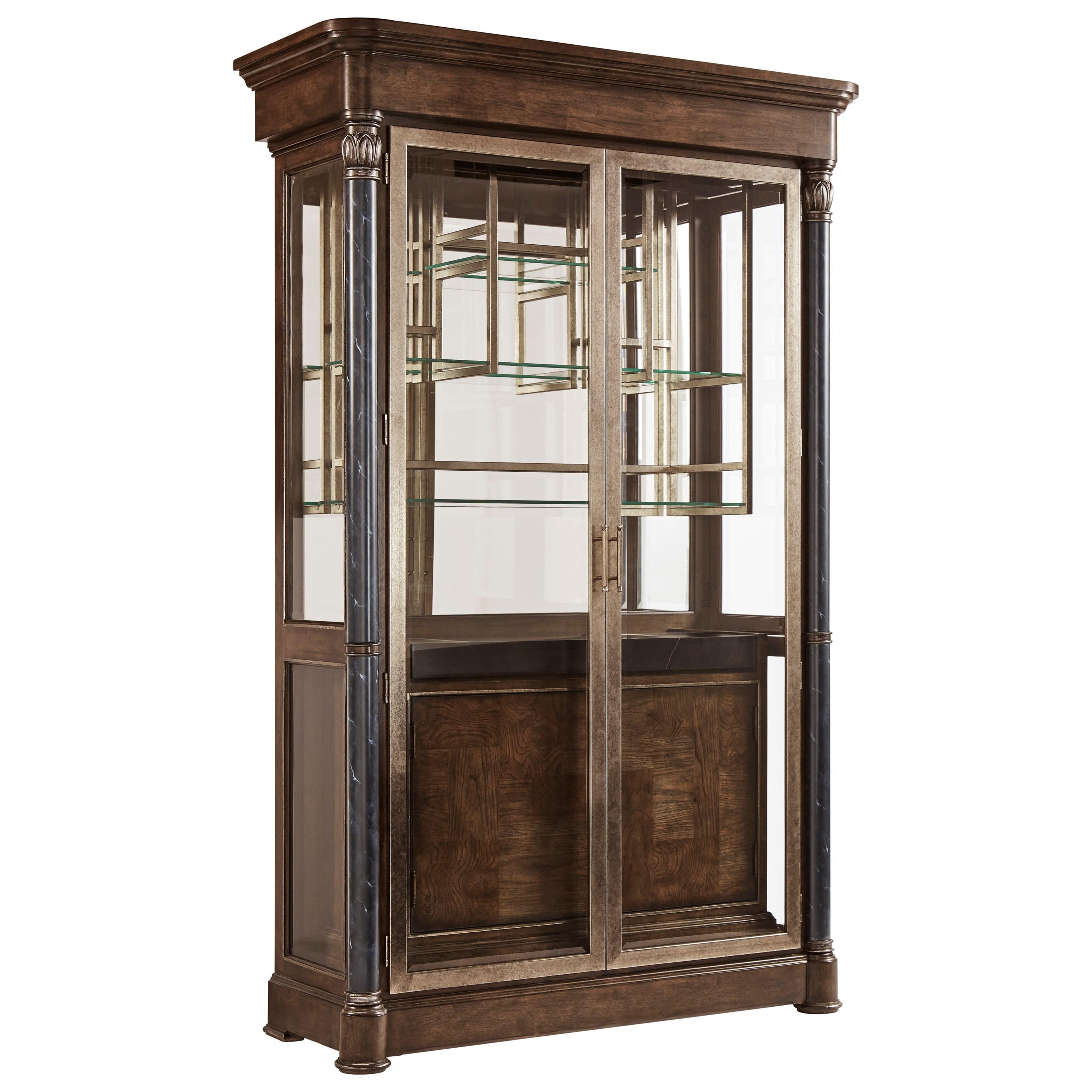 Landmark Display Cabinet by A.R.T. Furniture Inc at Michael Alan Furniture & Design