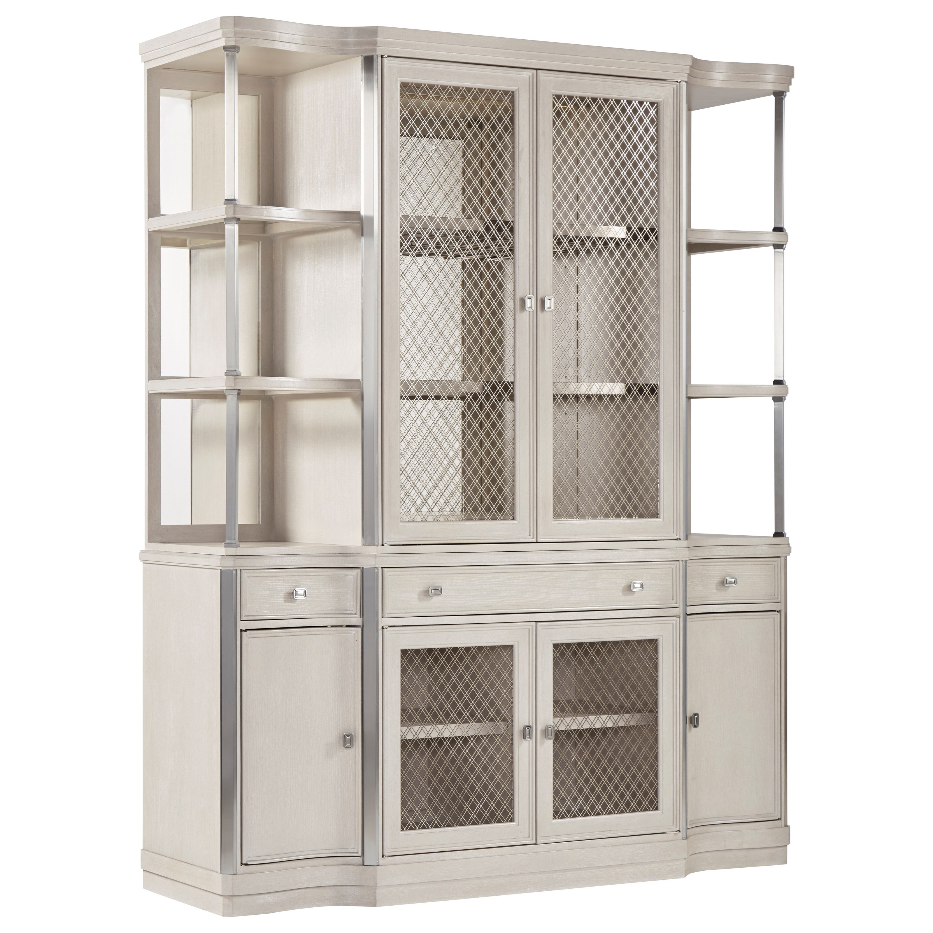 La Scala China Cabinet by A.R.T. Furniture Inc at Powell's Furniture and Mattress