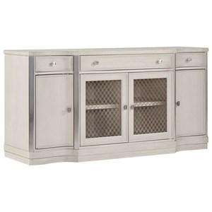 3-Drawer Sideboard with Adjustable Interior Shelving