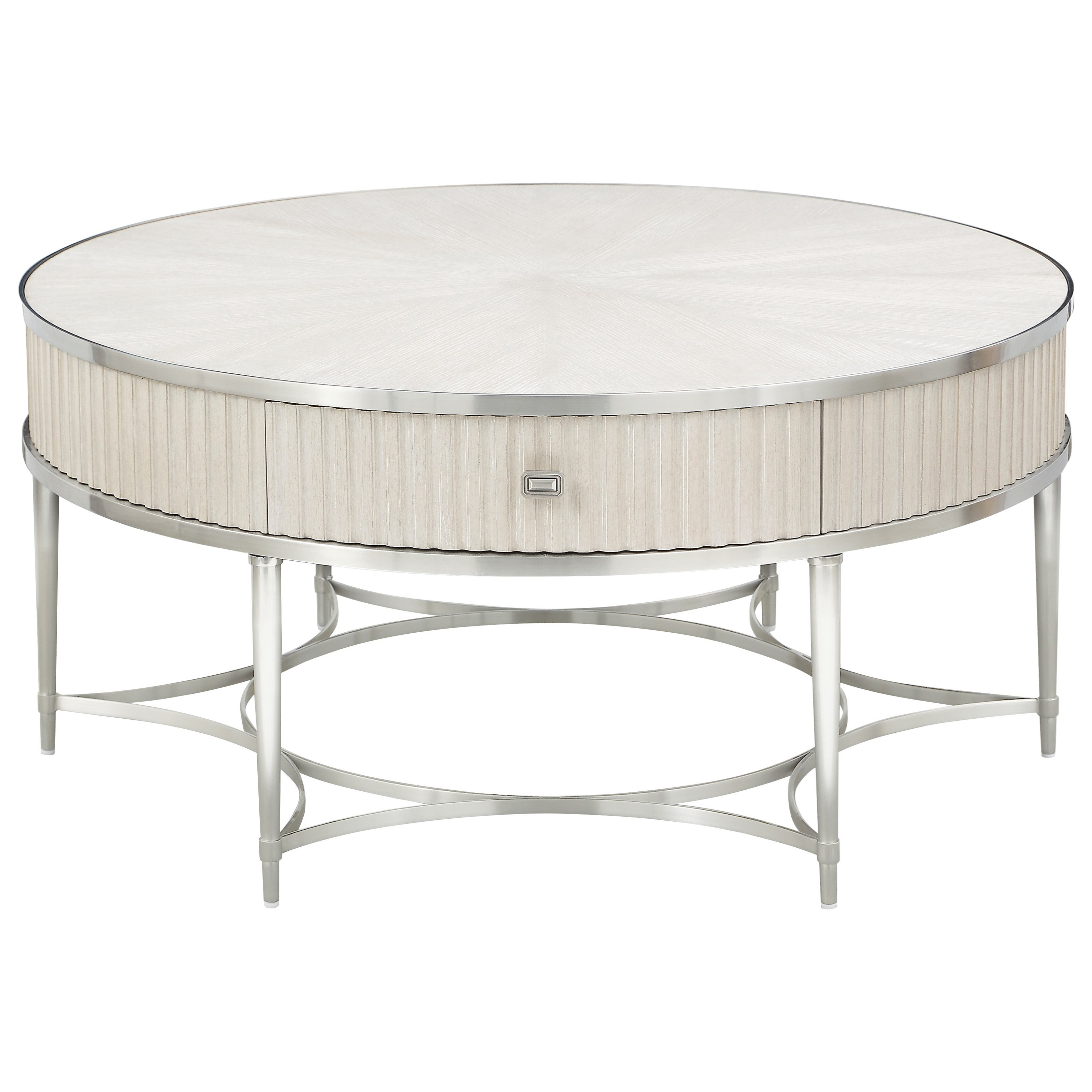 La Scala Round Cocktail Table by Klien Furniture at Sprintz Furniture
