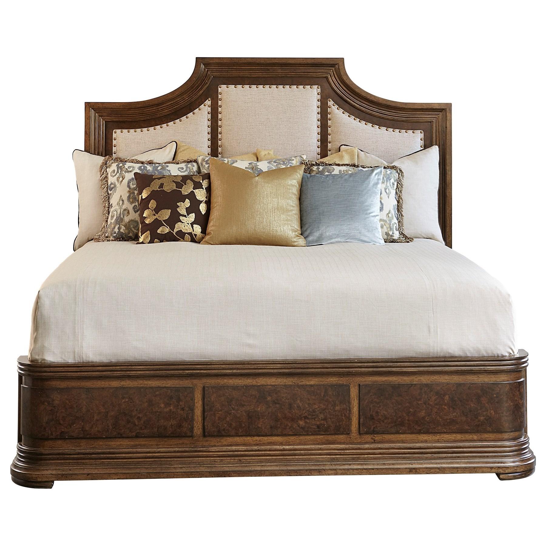 Kingsport  Queen Upholstered Panel Bed  by Klien Furniture at Sprintz Furniture