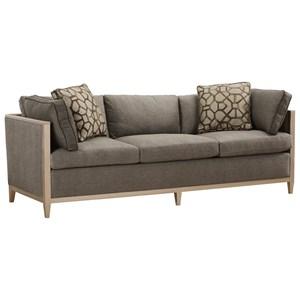 Contemporary Astor Sofa with Tuxedo Arms