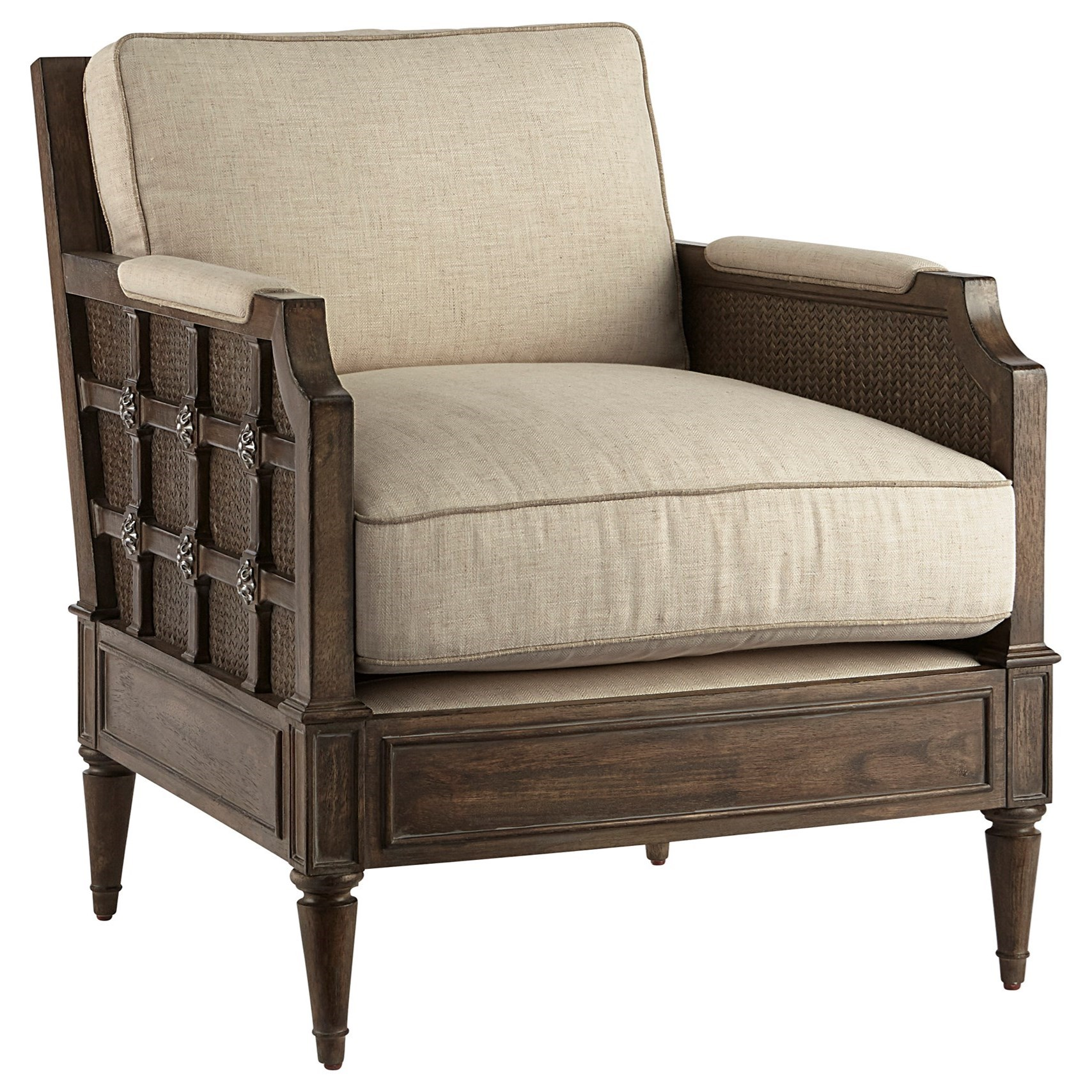 Vintage Salvage Upholstery Accent Chair by A.R.T. Furniture Inc at Home Collections Furniture