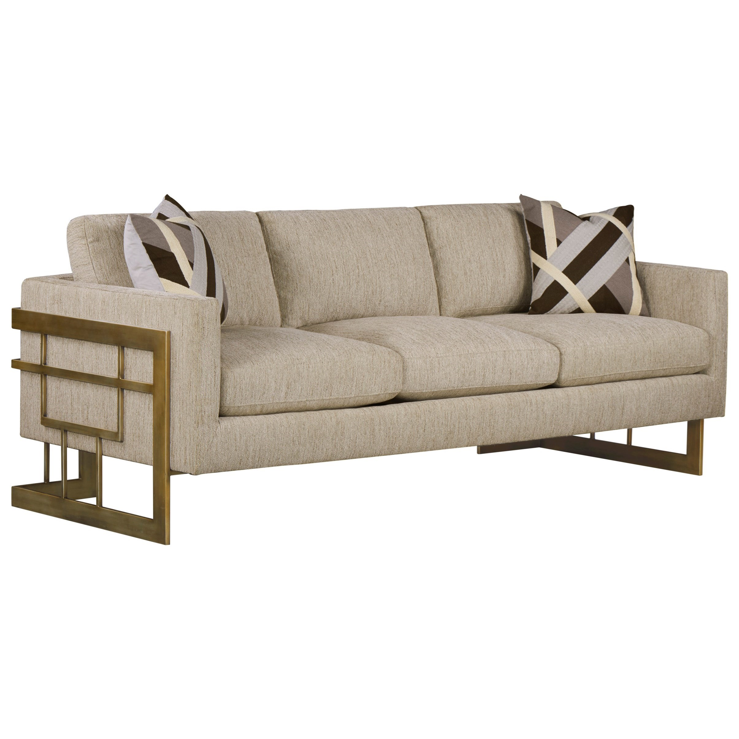 WoodWright Upholstery Sofa by A.R.T. Furniture Inc at Powell's Furniture and Mattress