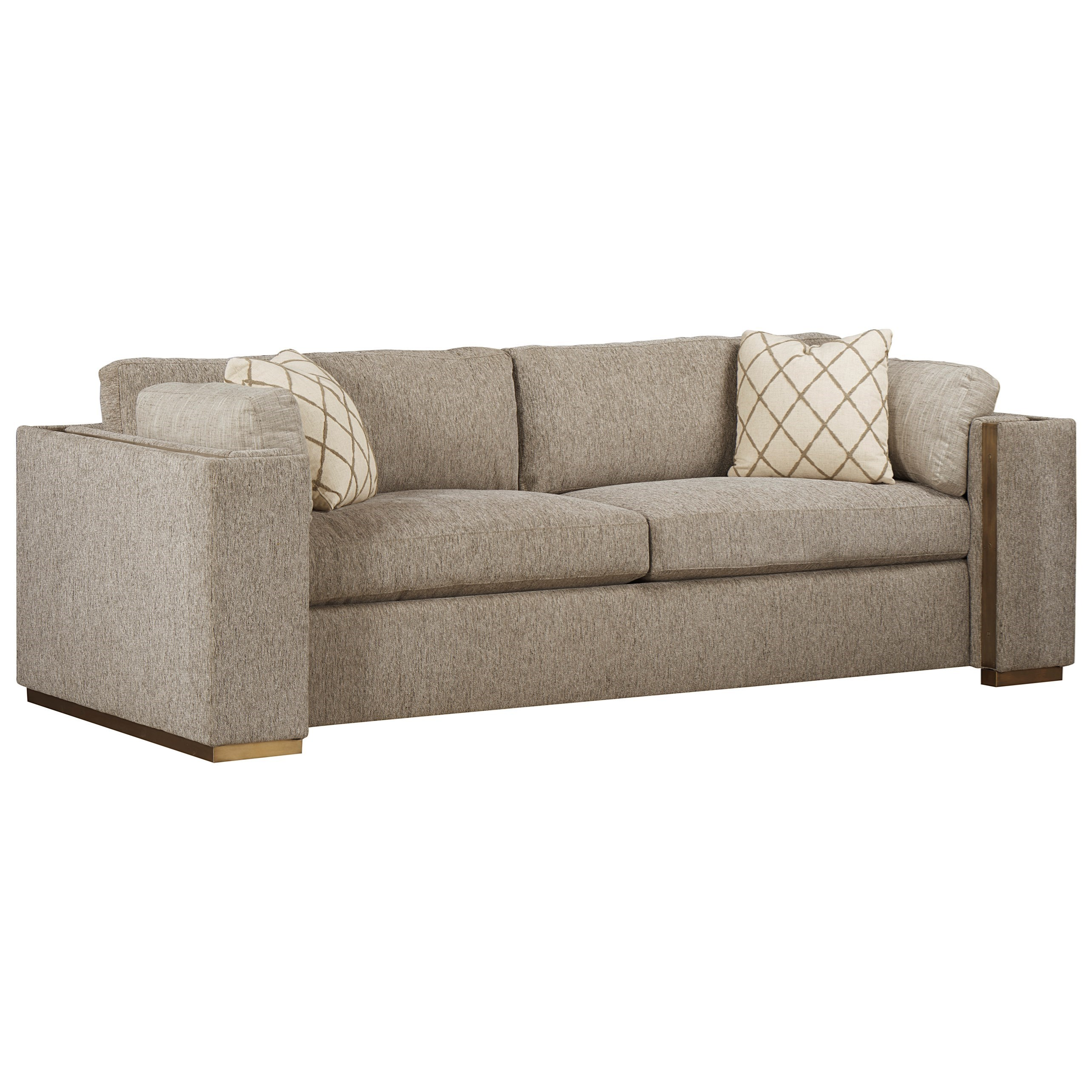 WoodWright Upholstery Sofa by A.R.T. Furniture Inc at Home Collections Furniture