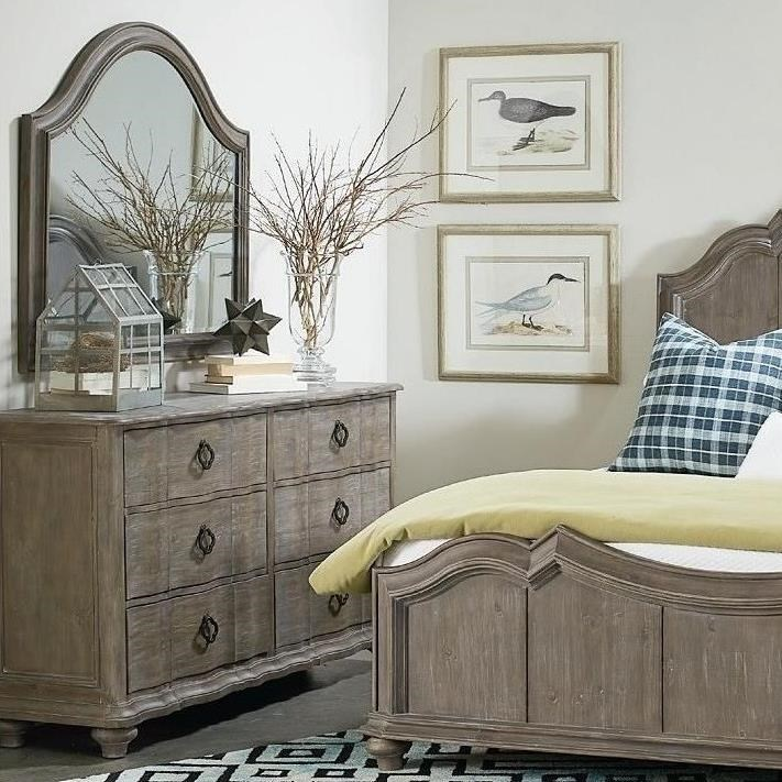 Allie Dresser & Mirror by A.R.T. Furniture Inc at Stoney Creek Furniture
