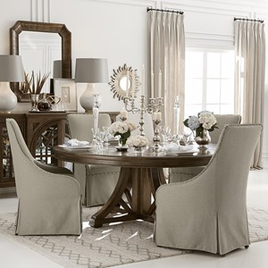 "5-Piece 60"" Bridlewood Dining Table Set"