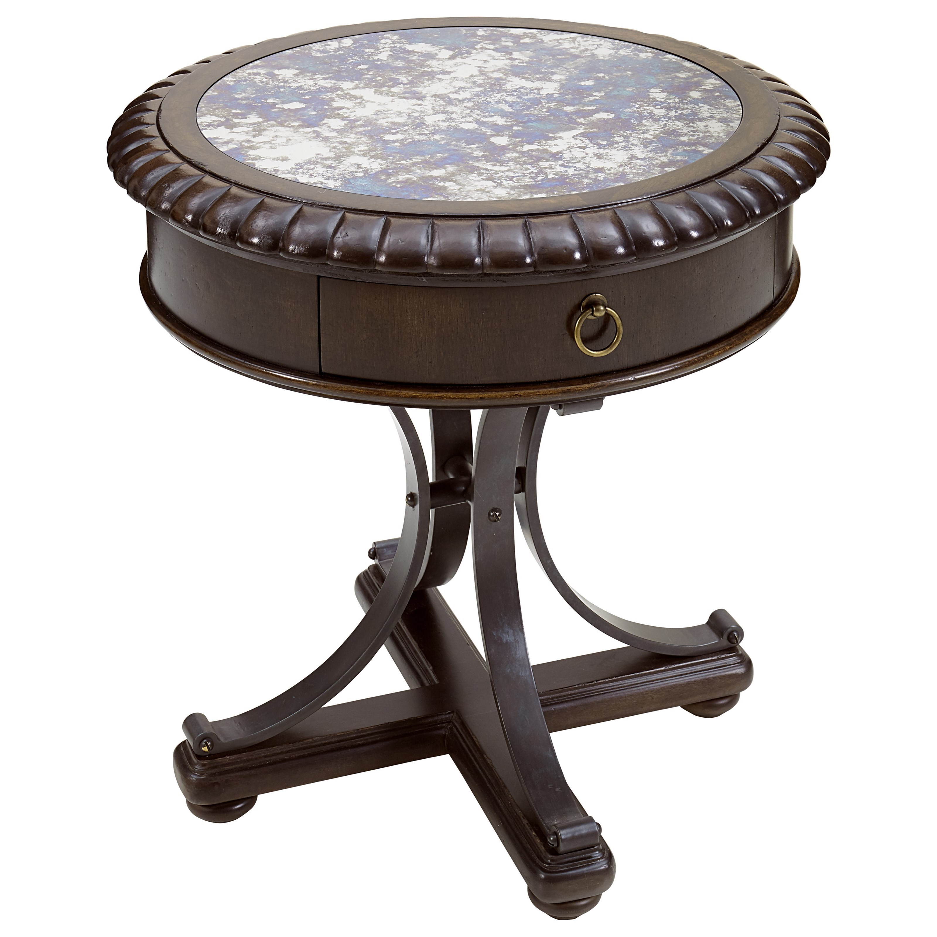American Chapter Briarwood Lamp Table by Klien Furniture at Sprintz Furniture