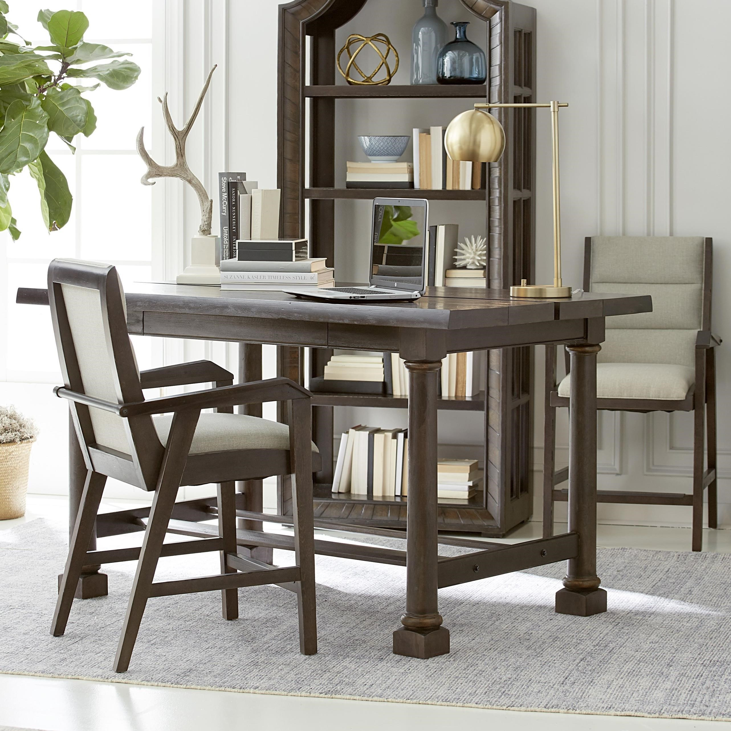American Chapter 3-Piece Live Edge Activity Table Set by A.R.T. Furniture Inc at Home Collections Furniture