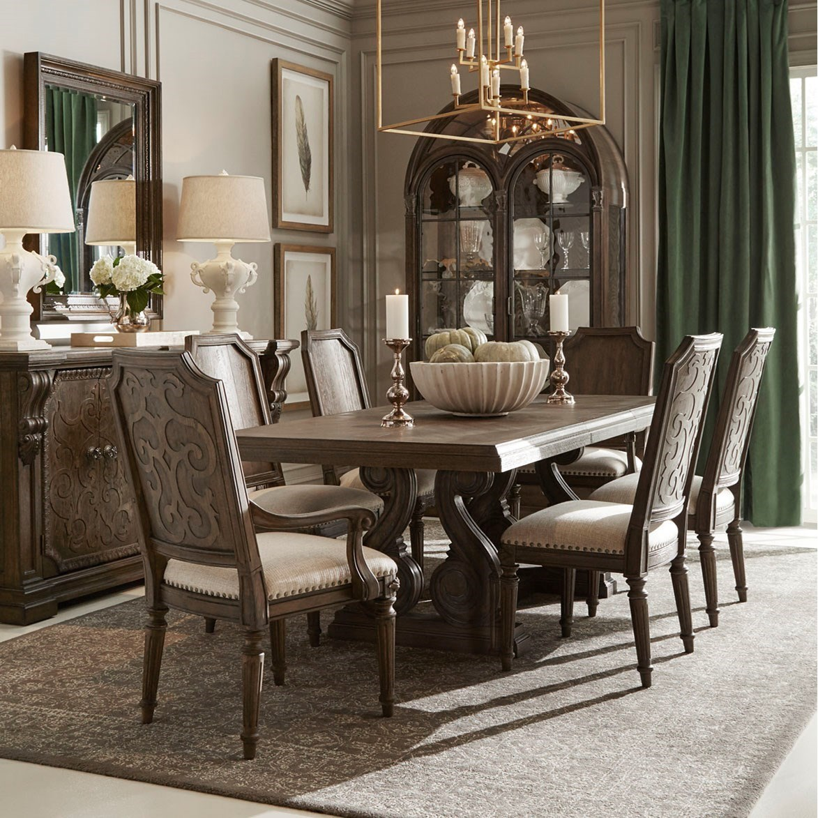 Vintage Salvage  Dining Room Group by A.R.T. Furniture Inc at Home Collections Furniture