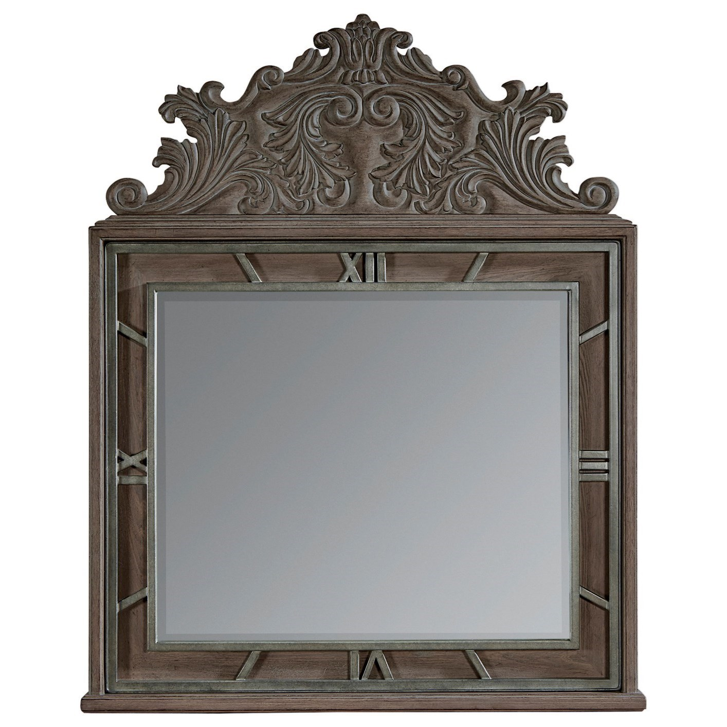 Vintage Salvage  Benjamin Mirror by A.R.T. Furniture Inc at Home Collections Furniture