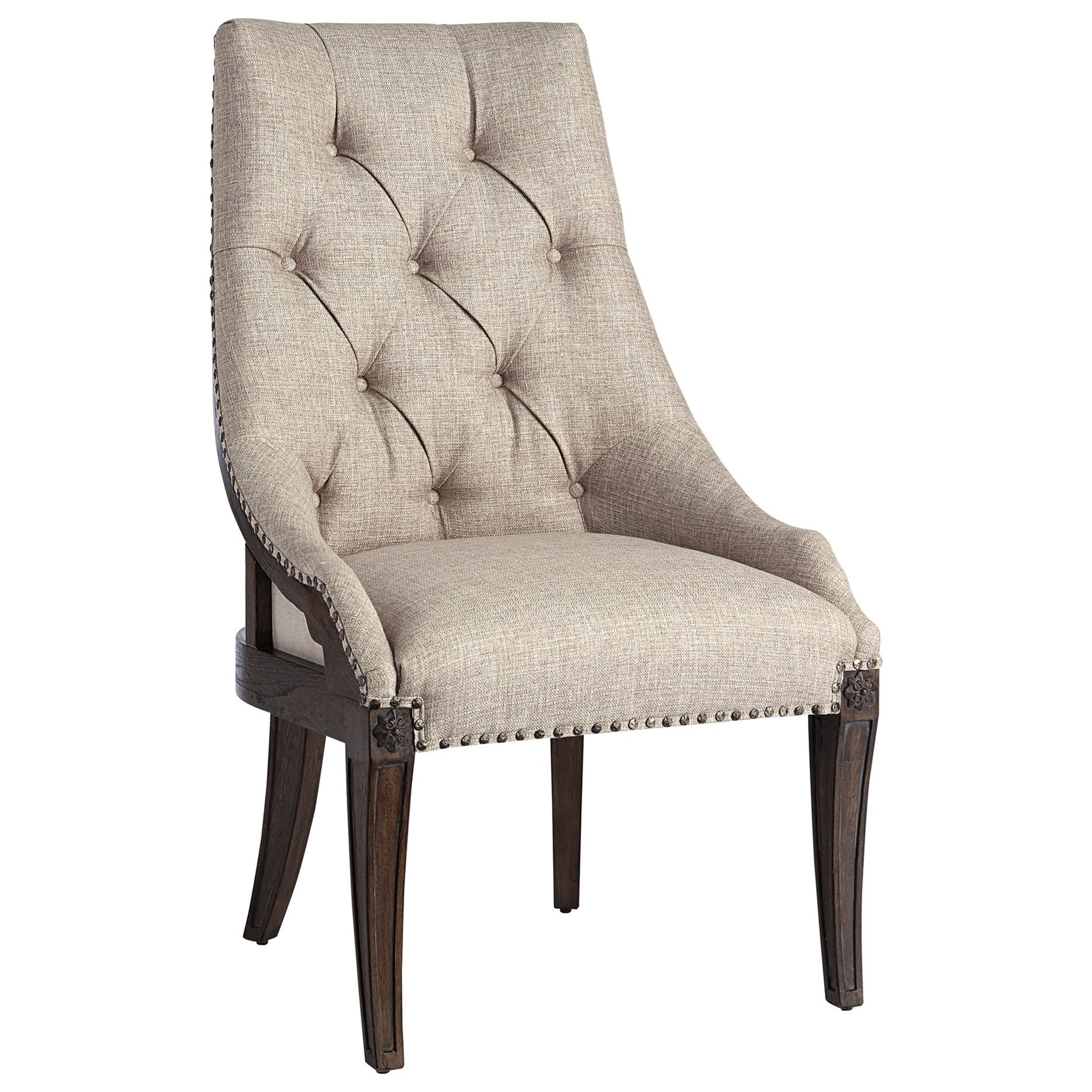 Vintage Salvage  Reeves Host Chair by A.R.T. Furniture Inc at Home Collections Furniture