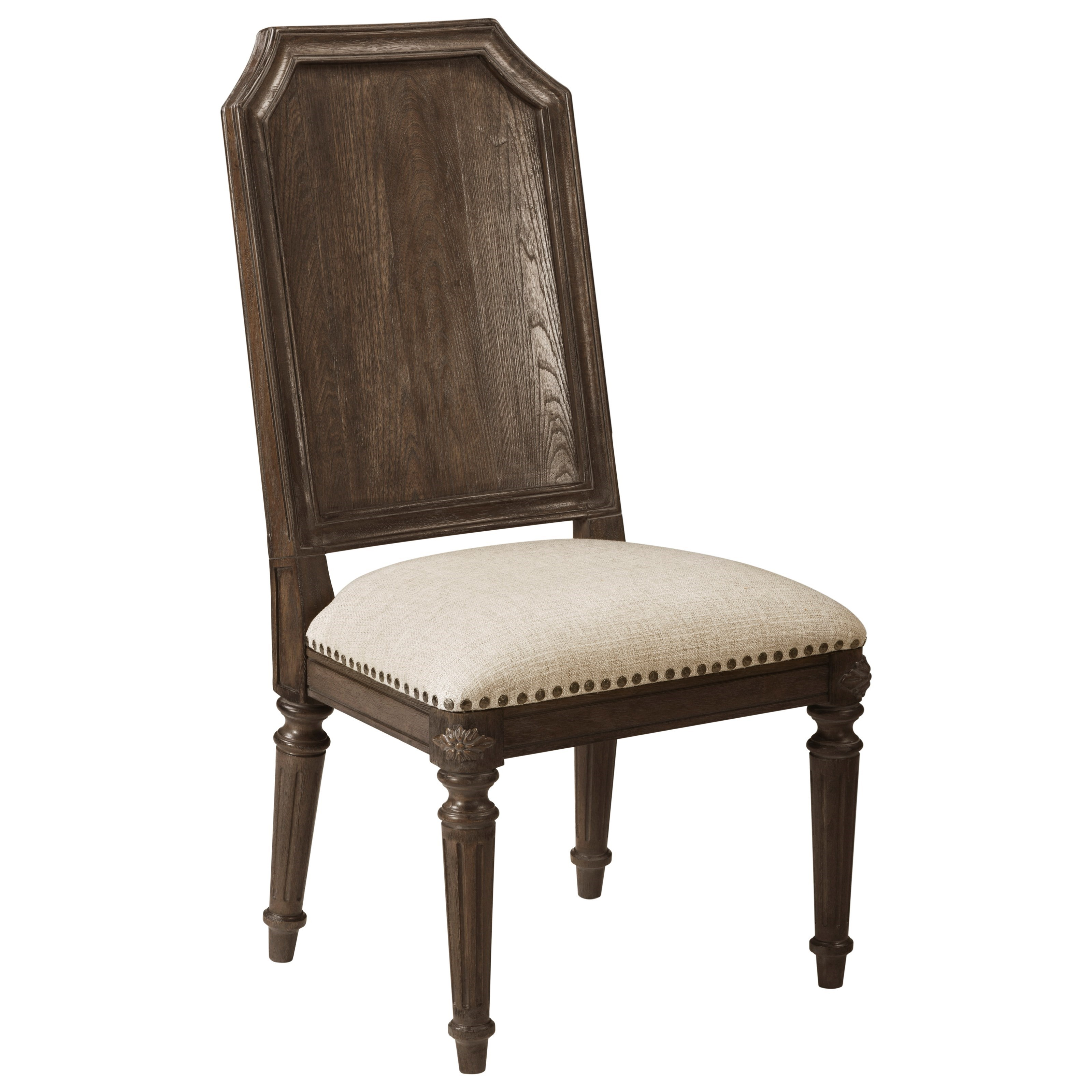 Vintage Salvage  Mills Side Chair by A.R.T. Furniture Inc at Home Collections Furniture