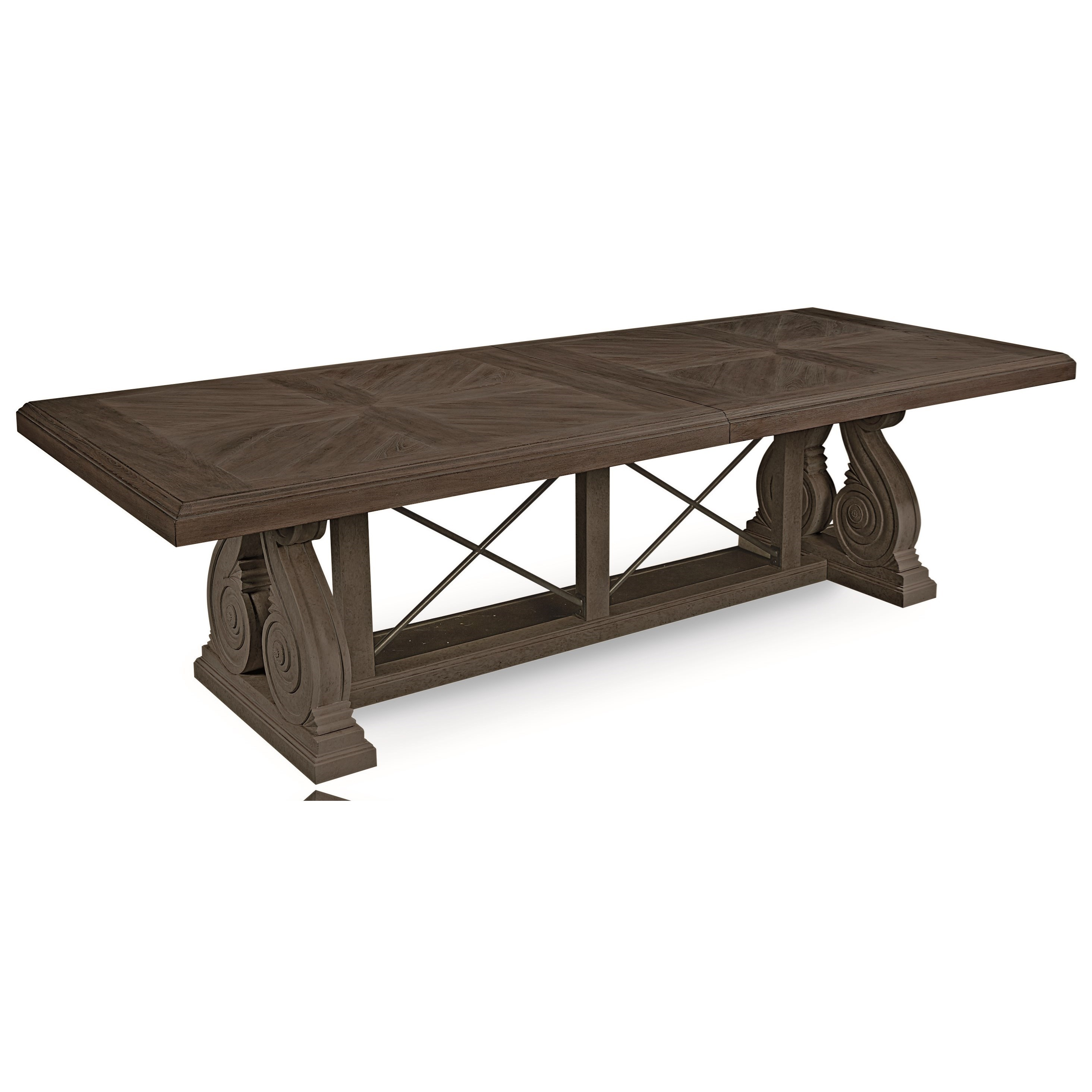 Vintage Salvage  Pearce Dining Table by A.R.T. Furniture Inc at Home Collections Furniture