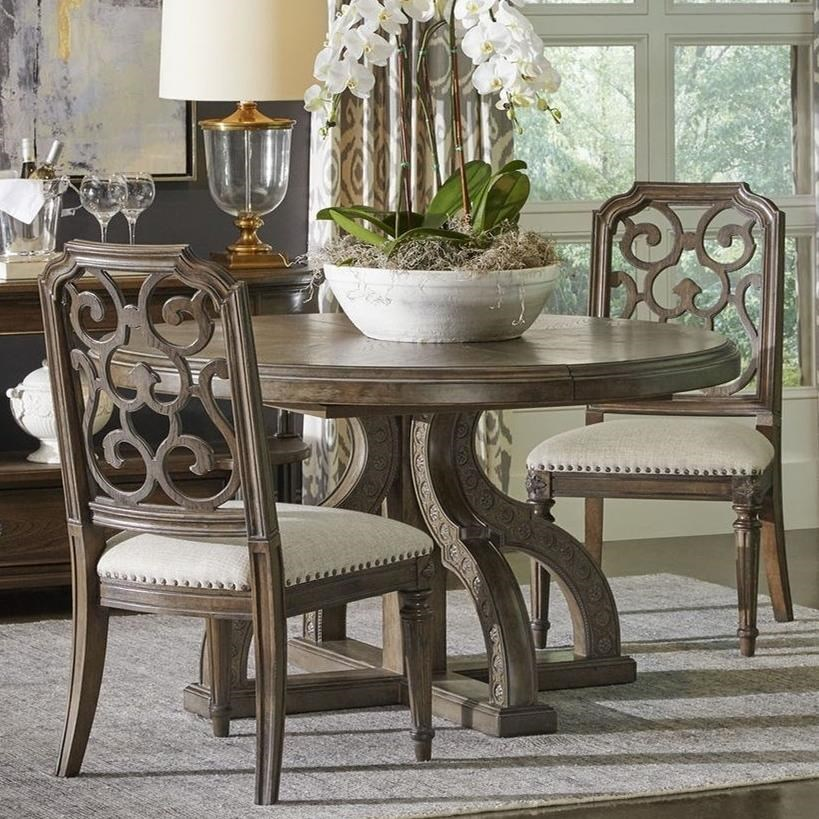 Vintage Salvage  3-Piece Aiden Dining Table Set by A.R.T. Furniture Inc at Home Collections Furniture