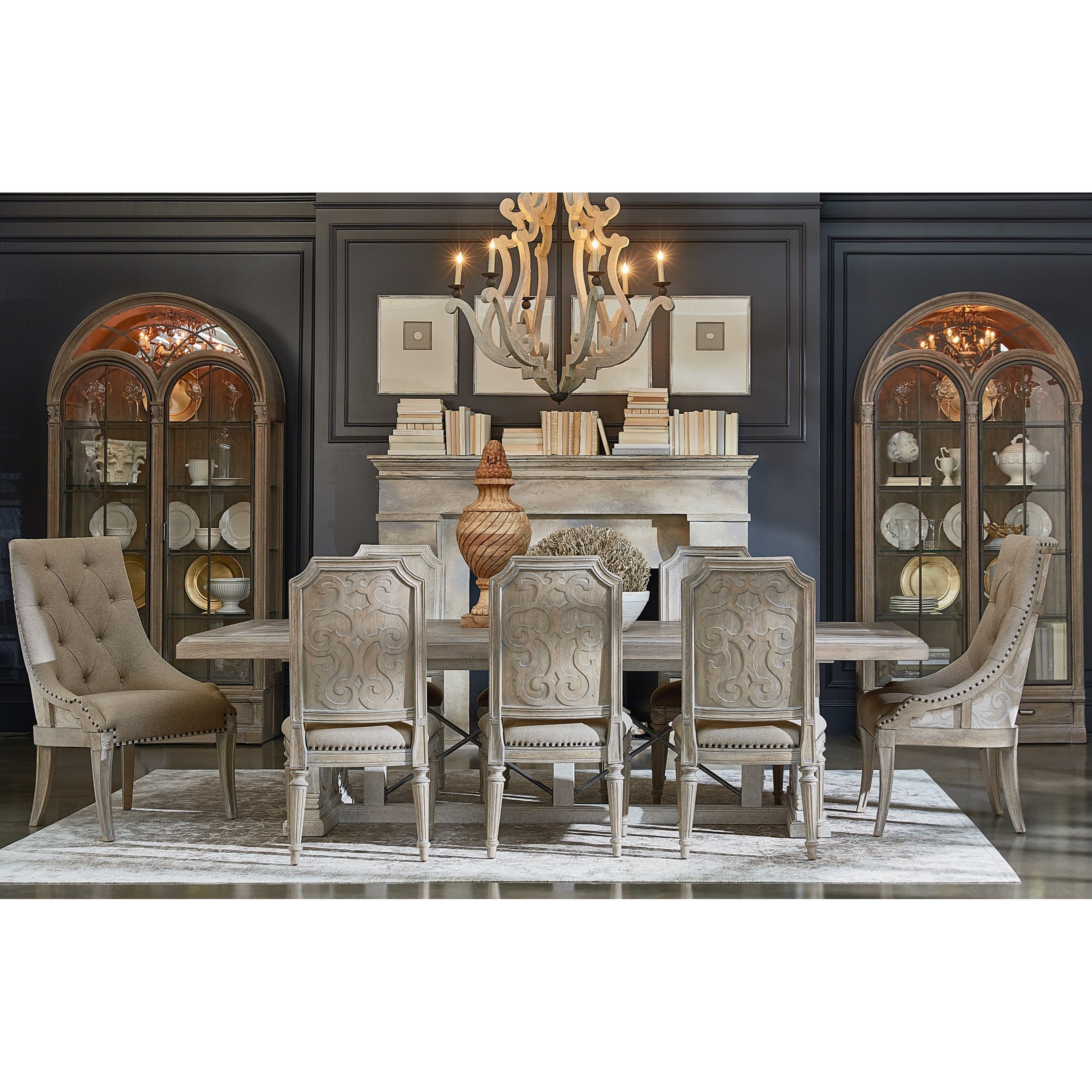 Arch Salvage Formal Dining Room Group by A.R.T. Furniture Inc at Baer's Furniture