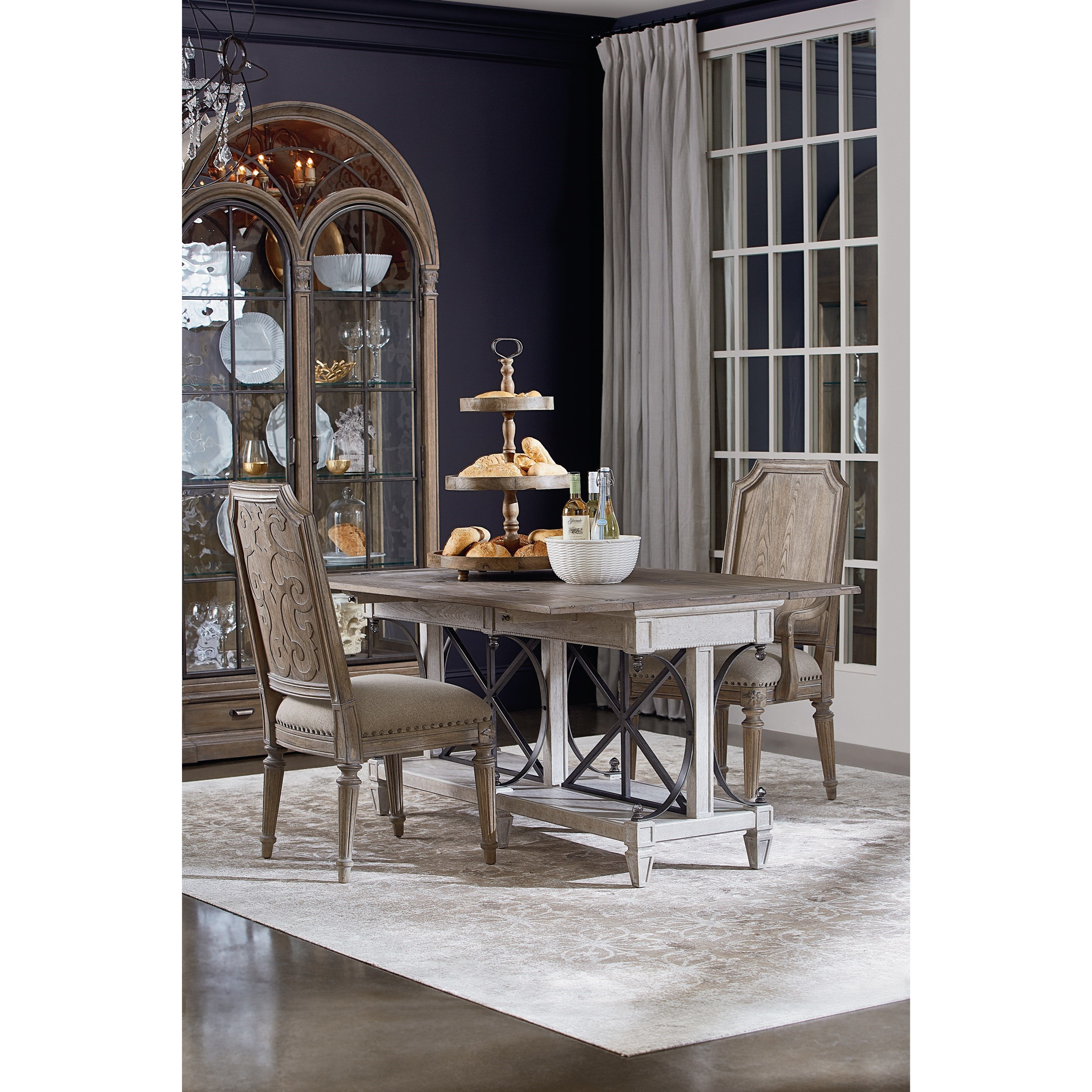 Arch Salvage Casual Dining Room Group by A.R.T. Furniture Inc at Baer's Furniture