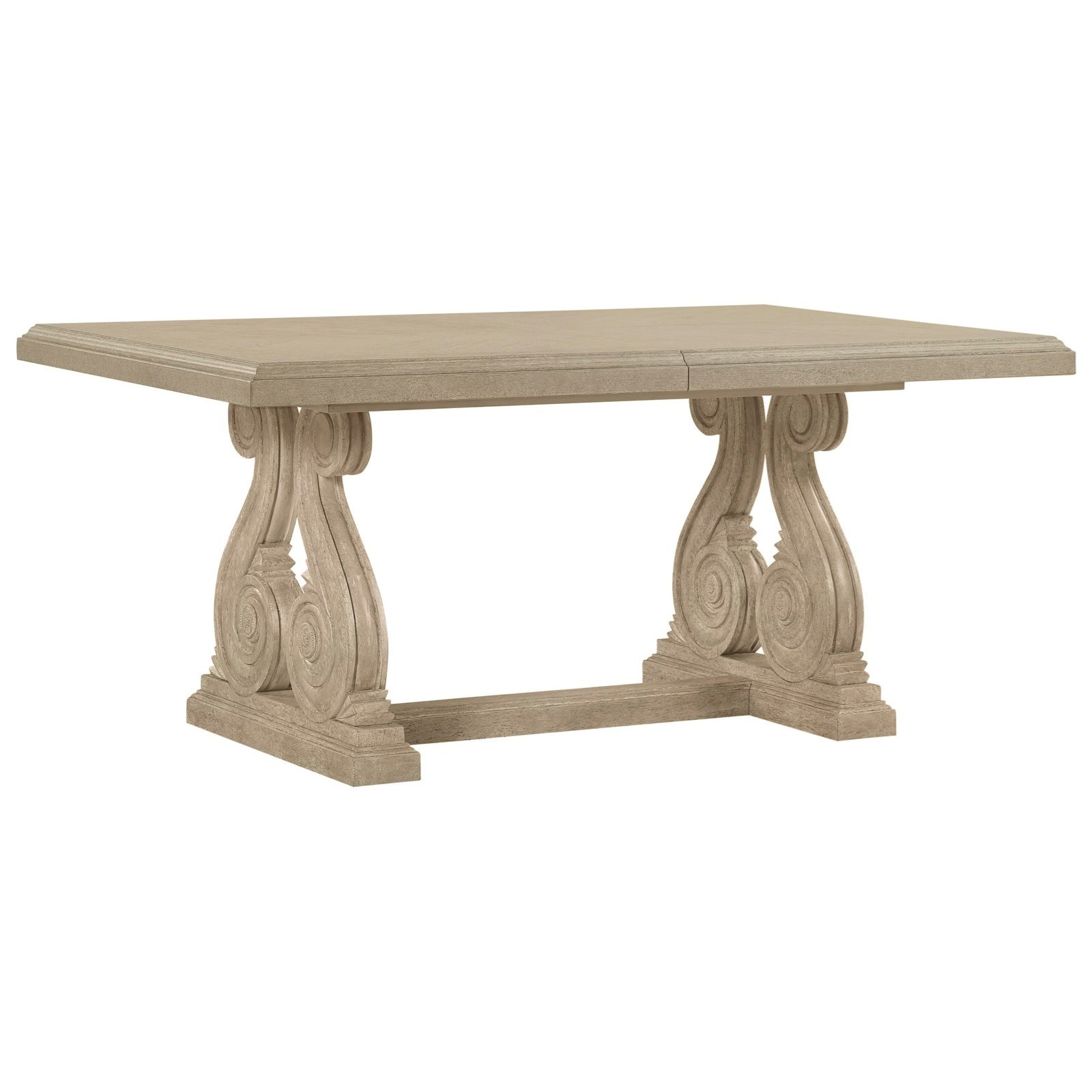 Arch Salvage Rectangular Dining Table by A.R.T. Furniture Inc at Baer's Furniture