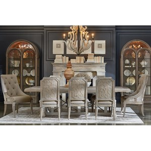 9-Piece Pearce Dining Table Set