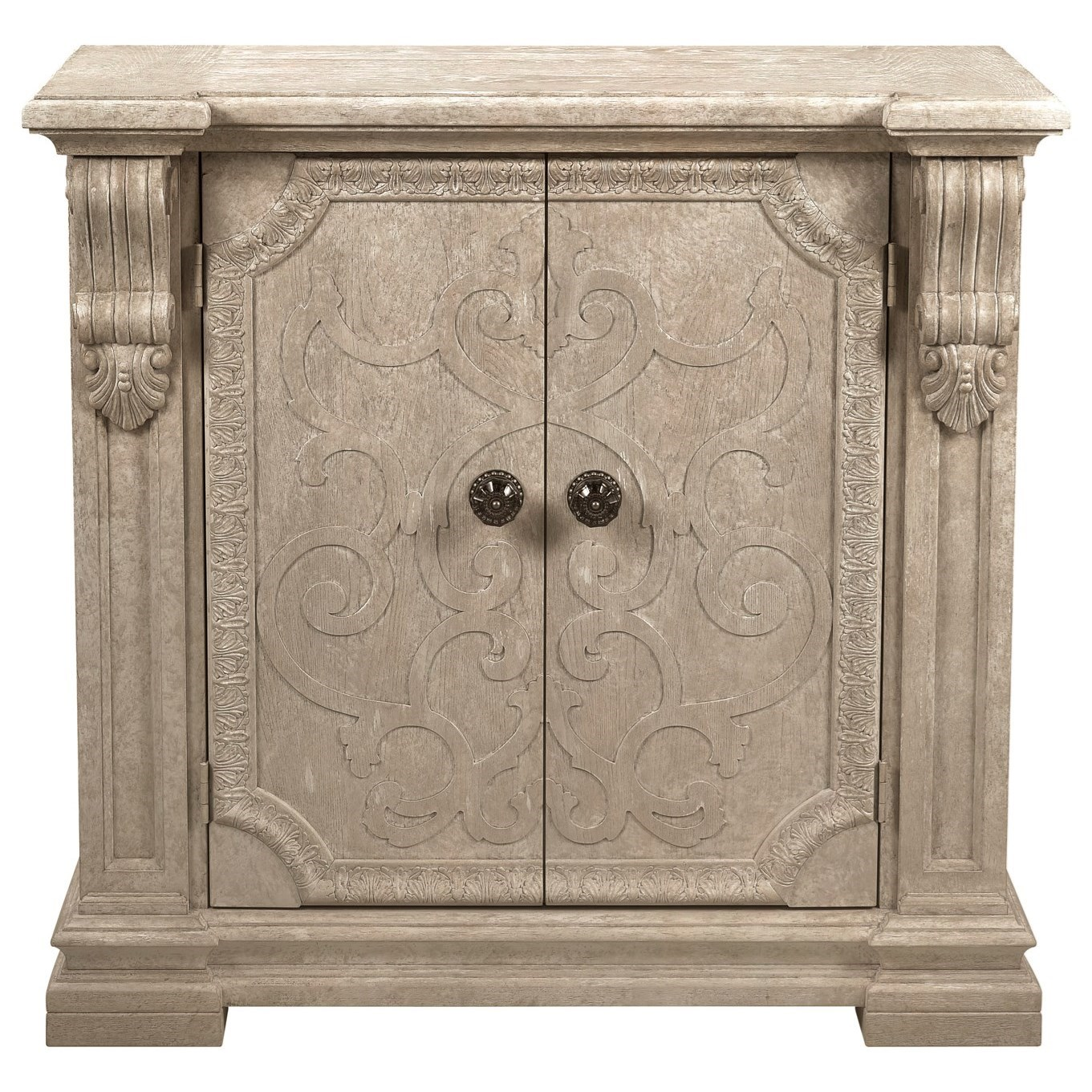 Arch Salvage Wren Server by A.R.T. Furniture Inc at Baer's Furniture