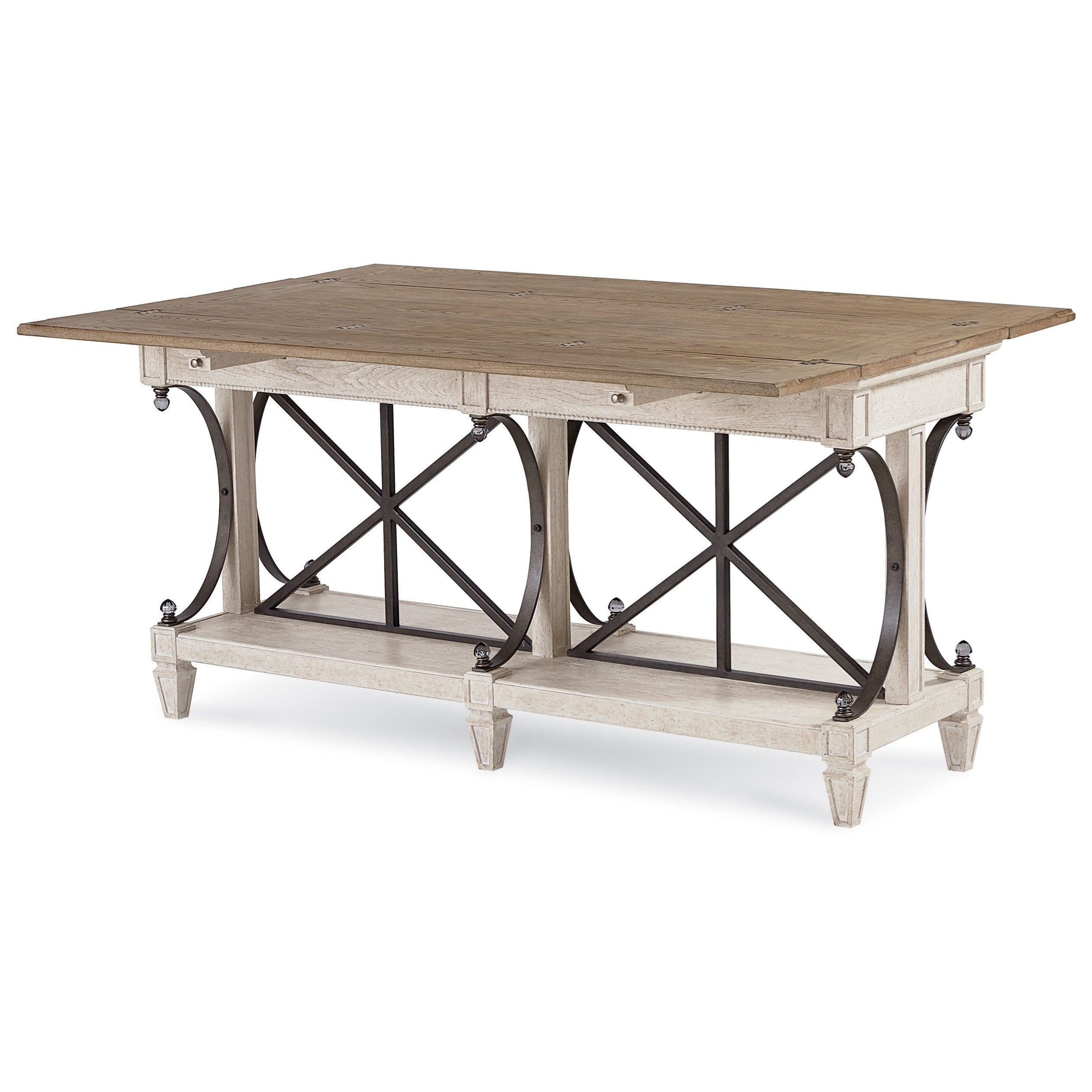 Arch Salvage Vaux Sofa Table by A.R.T. Furniture Inc at Home Collections Furniture