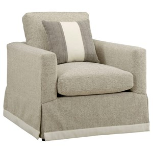 Harrison Skirted Accent Chair