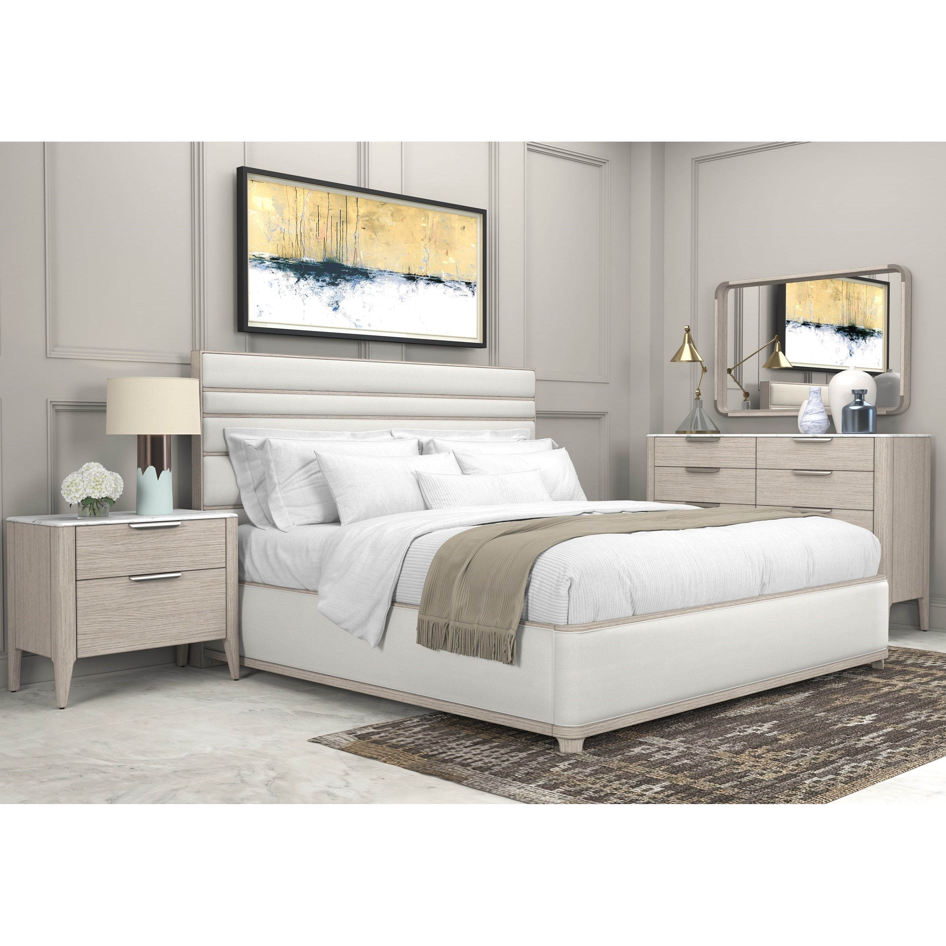 Arris King Bedroom Group by A.R.T. Furniture Inc at Home Collections Furniture