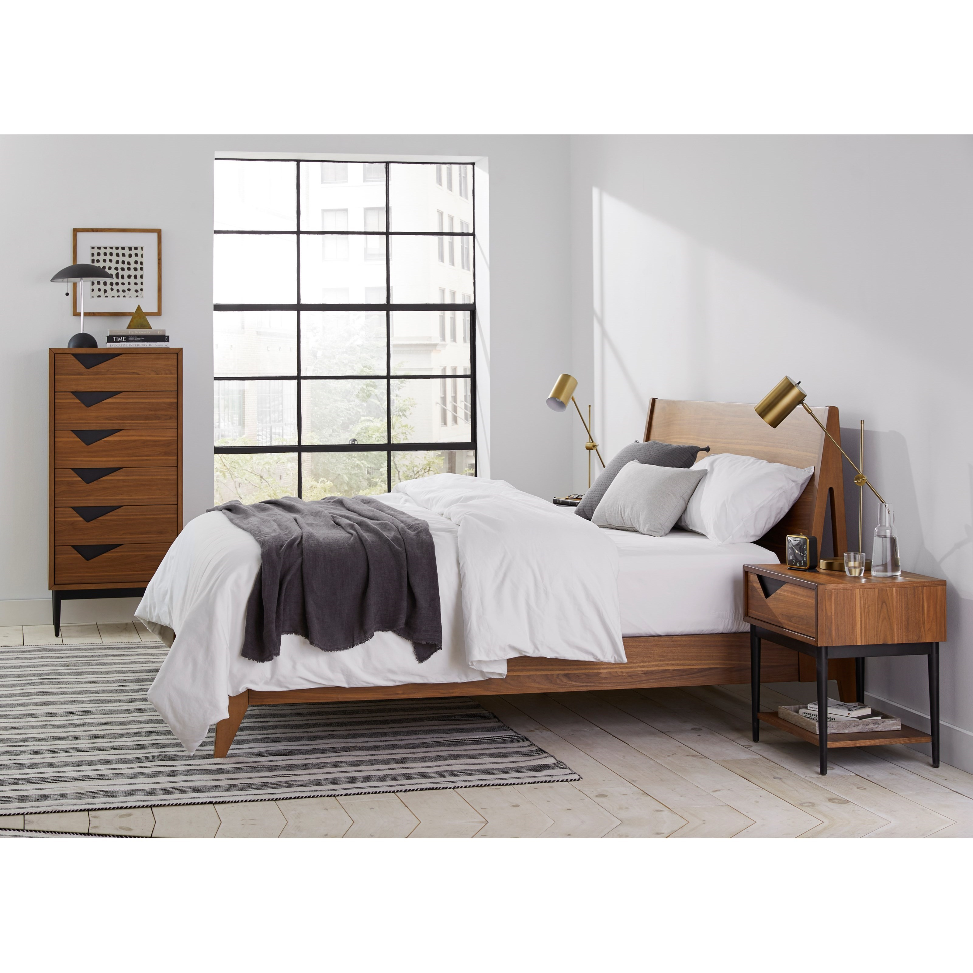 Bobby Berk King Bedroom Group by A.R.T. Furniture Inc at Home Collections Furniture
