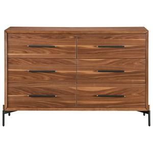 Mid-Century Modern Gehl Dresser with 6 Drawers