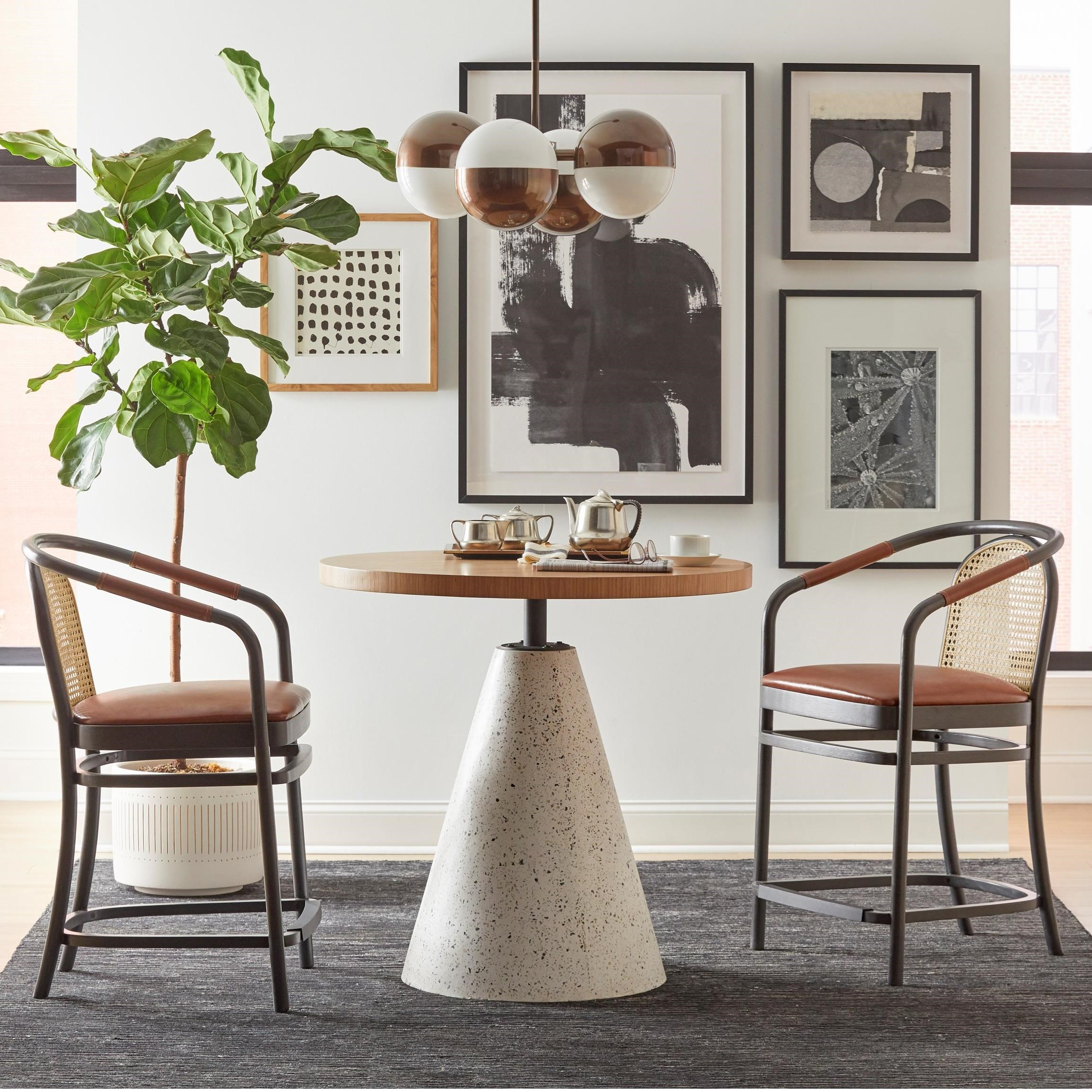 Bobby Berk Table and Chair Set by Klien Furniture at Sprintz Furniture