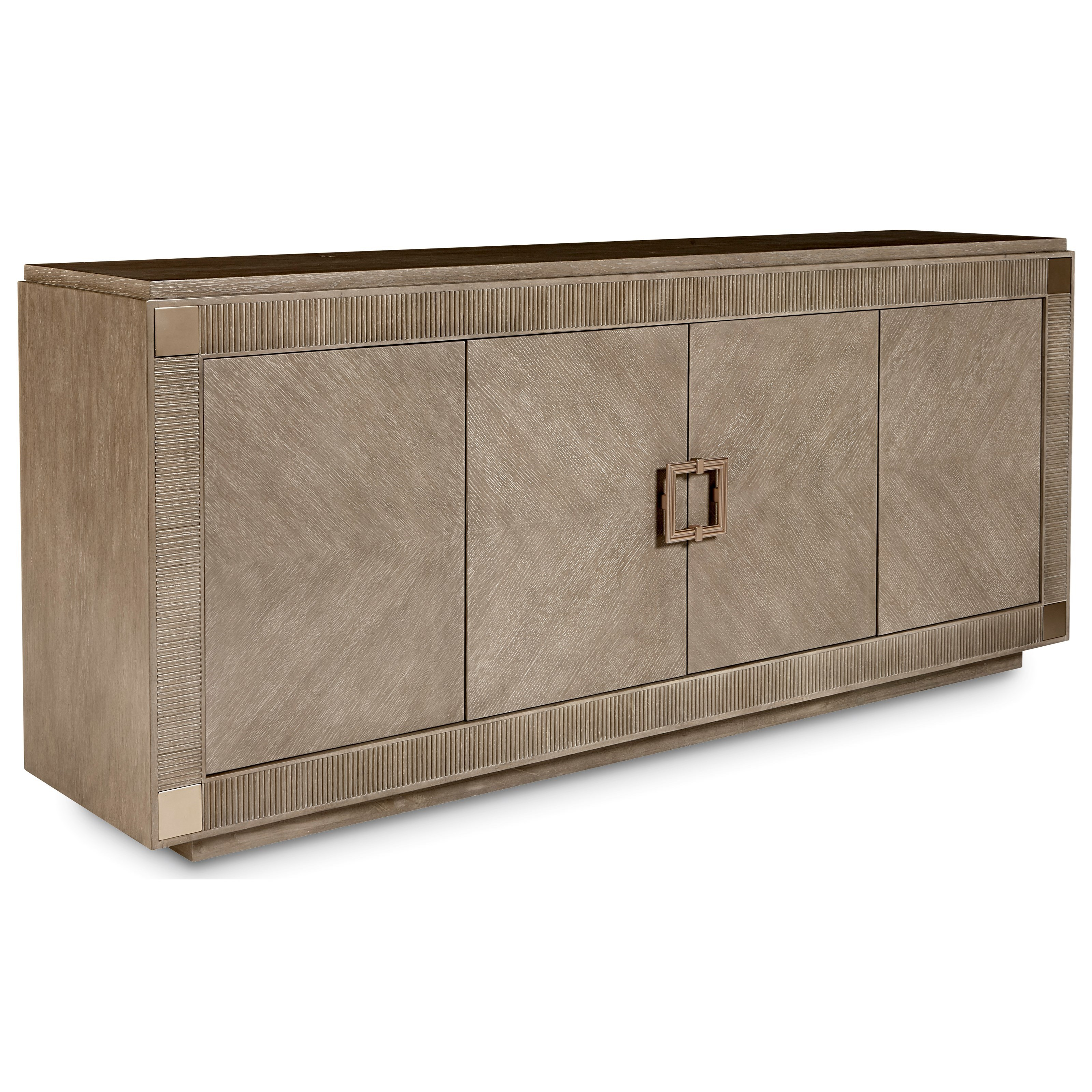 Cityscapes Hudson Entertainment Console by A.R.T. Furniture Inc at Baer's Furniture
