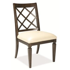 A.R.T. Furniture Inc Classic Lattice-Back Side Chair