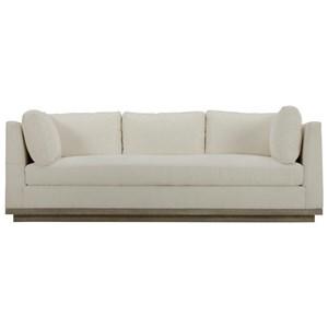 Cruz Sofa with Wood Plinth Base