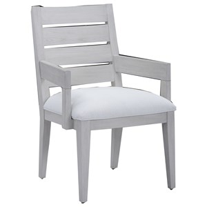 Luke Slat Back Arm Chair
