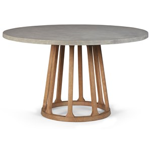 Fountainwood Dining Table with Concrete Top