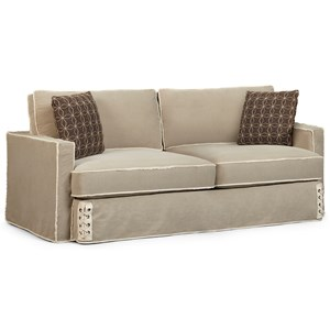 Nelson Sofa with Slipcover and Down Blend Cushions
