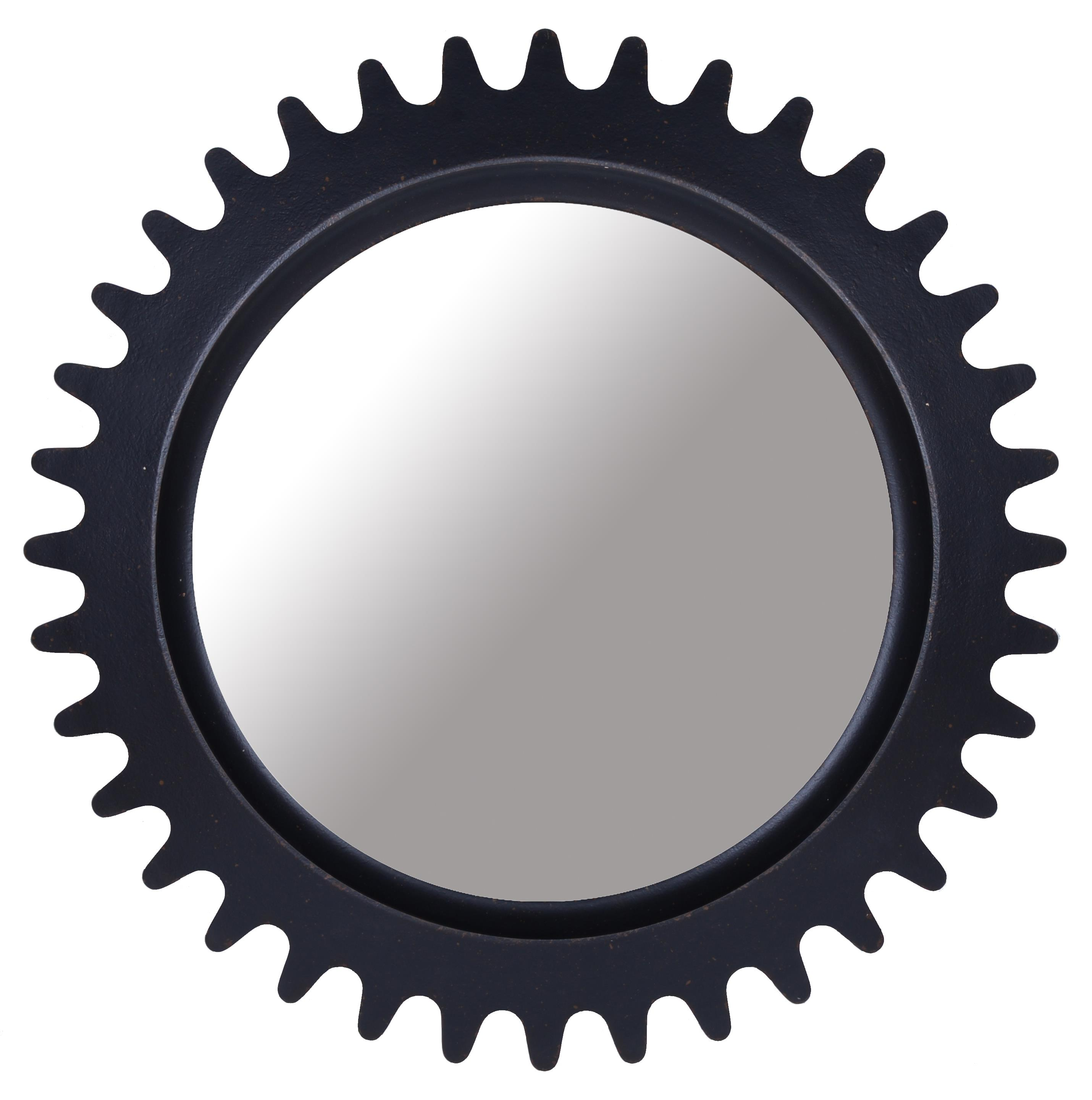 Epicenters Williamsburg Round Factory Mirror by A.R.T. Furniture Inc at Stoney Creek Furniture