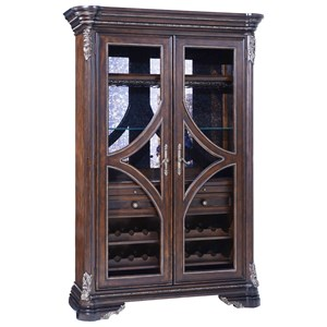 Traditional Wine Cabinet/Display Cabinet