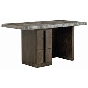 Mineral Kitchen Island with Live Edge