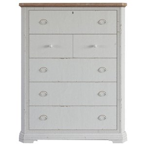 Two-Tone Drawer Chest