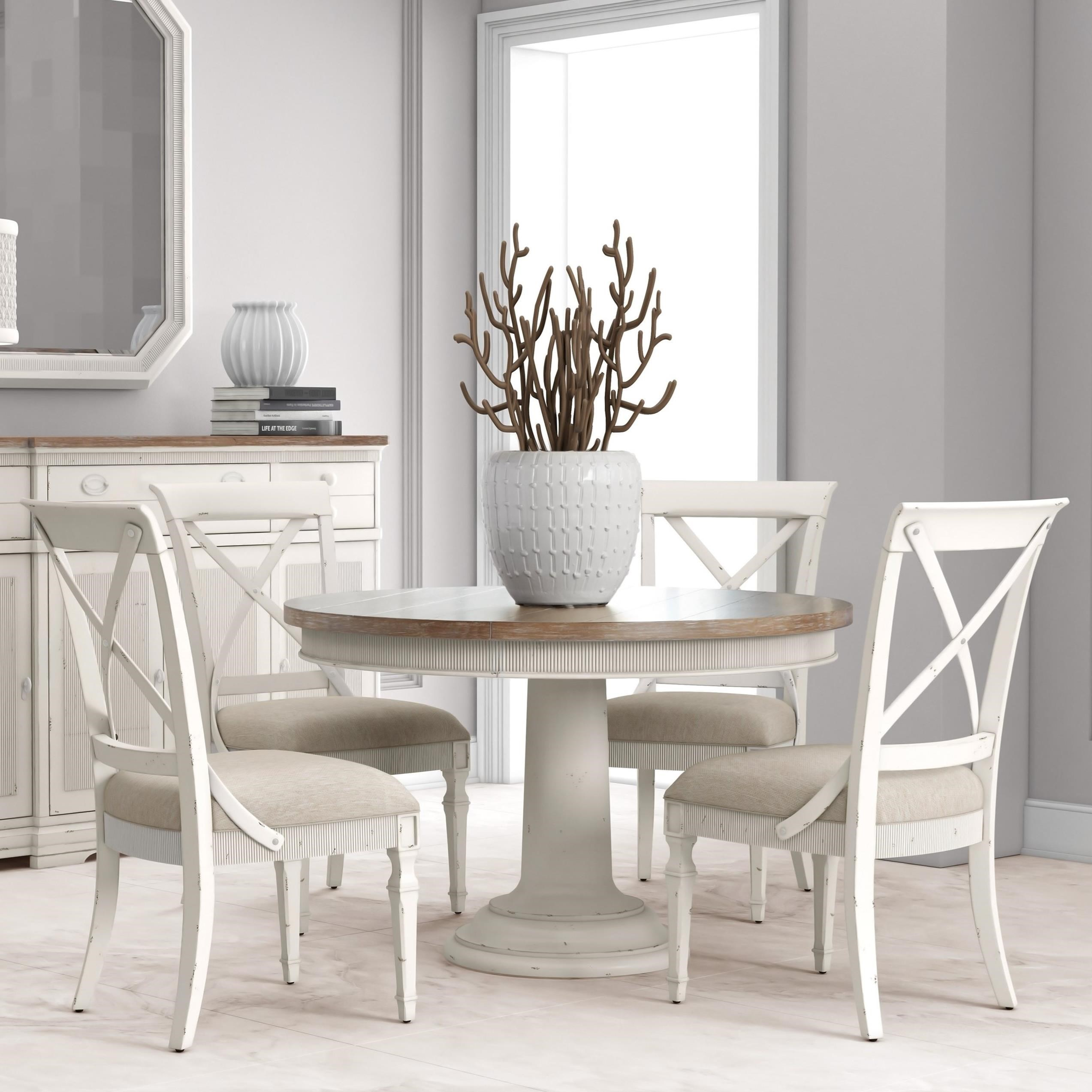 Palisade 5-Piece Round Dining Table Set by A.R.T. Furniture Inc at Baer's Furniture