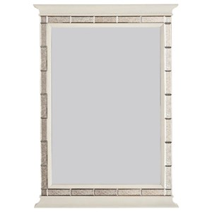 Lucas Mirror with Inset Beveled Mirror